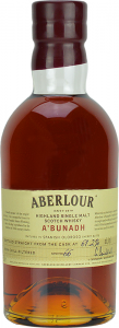 Personalised Aberlour A'bunadh 70cl engraved bottle