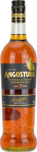 Personalised Angostura 7 Year Old Dark 70cl engraved bottle