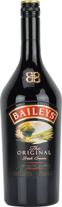 Personalised Baileys Irish Cream Liqueur 100cl engraved bottle