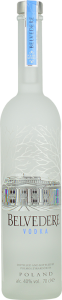 Personalised Belvedere 70cl engraved bottle