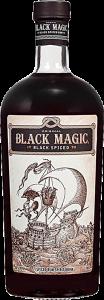 Personalised Black Magic Spiced Rum engraved bottle