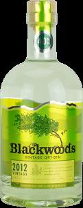 Personalised Blackwoods Gin 70cl engraved bottle