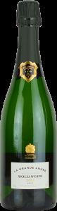 Personalised Bollinger La Grande Annee Vintage Magnum 150cl engraved bottle