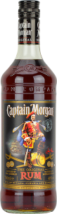 Personalised Captain Morgan Original Rum 70cl engraved bottle