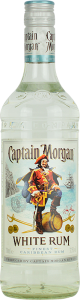 Personalised Captain Morgan White Rum 70cl engraved bottle