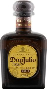 Personalised Don Julio Anejo Tequila engraved bottle