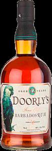 Personalised Doorly's 12 Year Old engraved bottle
