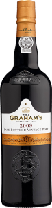 Personalised Graham's Late Bottled Vintage Port engraved bottle