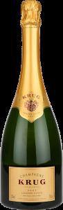 Personalised Krug Grand Cuvee 75cl engraved bottle