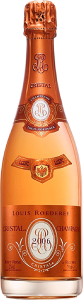 Personalised Louis Roederer Cristal Rose 75cl engraved bottle