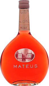 Personalised Mateus Rose engraved bottle