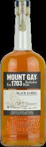 Personalised Mount Gay Black Barrel 70cl engraved bottle