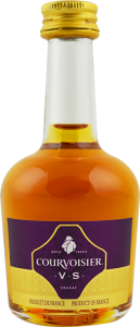 Personalised Miniature Courvoisier VS 5cl engraved bottle