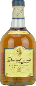 Personalised Dalwhinnie 15 Year Old 70cl engraved bottle