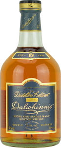 Personalised Dalwhinnie Distillers Edition 70cl engraved bottle