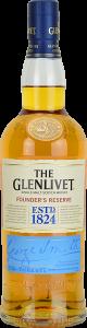 Personalised Glenlivet Founders Reserve 70cl engraved bottle