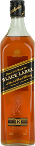 Personalised Johnnie Walker Black Label 70cl engraved bottle