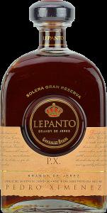 Personalised Lepanto Solera Gran Reserva Pedro Ximenez engraved bottle