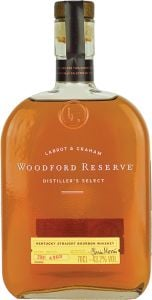 Personalised Woodford Reserve 70cl engraved bottle