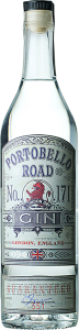 Personalised Portobello Road London Gin 70cl engraved bottle