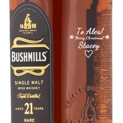 Personalised Bushmills 21 Year Old