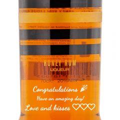 Personalised Canyero Ron Miel Honey Rum Liqueur