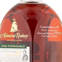 Personalised Admiral Rodney HMS Formidable