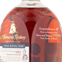 Personalised Admiral Rodney HMS Royal Oak