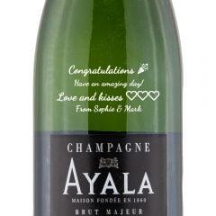 Personalised Ayala Brut Majeur NV