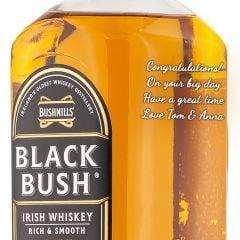 Personalised Bushmills Black Bush