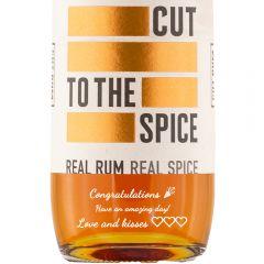 Personalised Cut Spiced Rum