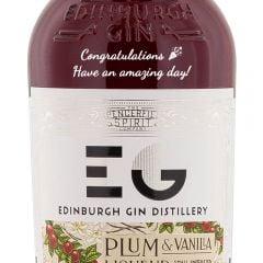 Personalised Edinburgh Plum and Vanilla