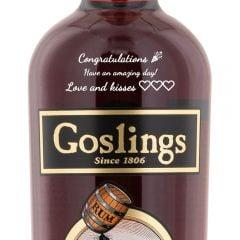Personalised Goslings Black Seal Rum