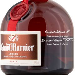 Personalised Grand Marnier Liqueur 70cl
