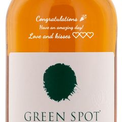 Personalised Green Spot Single Pot Still Whiskey