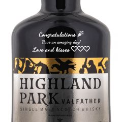 Personalised Highland Park Valfather