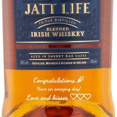 Personalised Jatt Life Blended Irish Whiskey