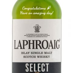 Personalised Laphroaig Select