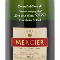 Personalised Mercier Brut Champagne
