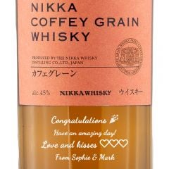 Personalised Nikka Coffey Grain Whisky