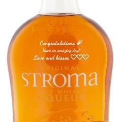 Personalised Old Pulteney Stroma Malt Whisky Liqueur