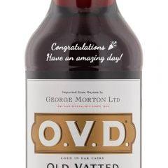 Personalised OVD Old Demerara Rum