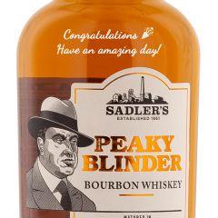 Personalised Peaky Blinder Bourbon Whiskey
