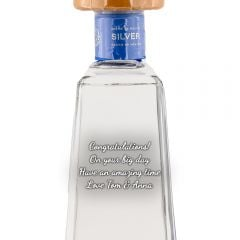 Personalised 1800 Silver Tequila