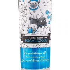 Personalised 3 Pugs Bubblegum Liqueur