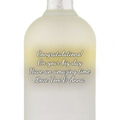 Personalised Absolut Citron Vodka
