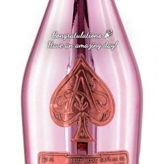Personalised Armand de Brignac Ace of Spades Rose
