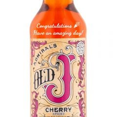 Personalised Admiral Vernons Old J Cherry Spiced Rum