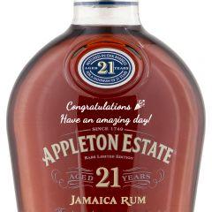 Personalised Appleton Estate 21 Year Old