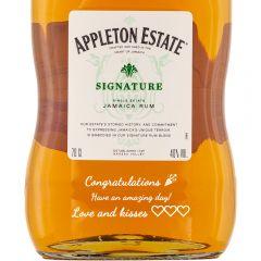 Personalised Appleton Estate Signature Blend Rum